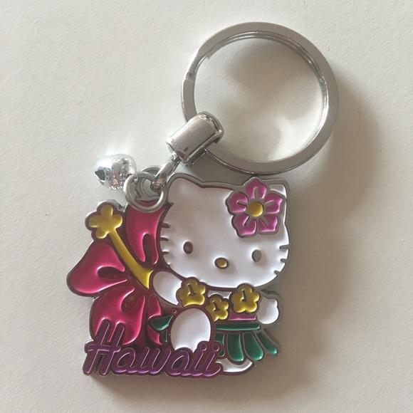 e26b945724 SANRIO Hello Kitty Hawaii design keychain